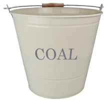 Coal Bucket - Cream